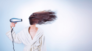 Heat Can Damage Hair