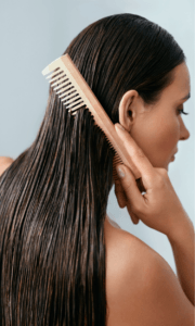 Wide Tooth Comb Prevents Hair Thinning