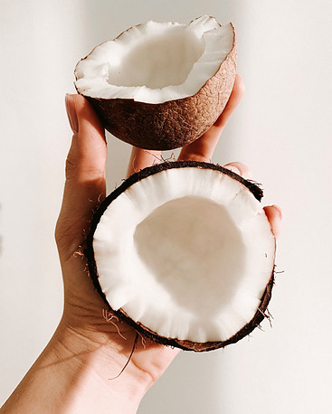 Coconut Oil Nourishes Hair Deeply