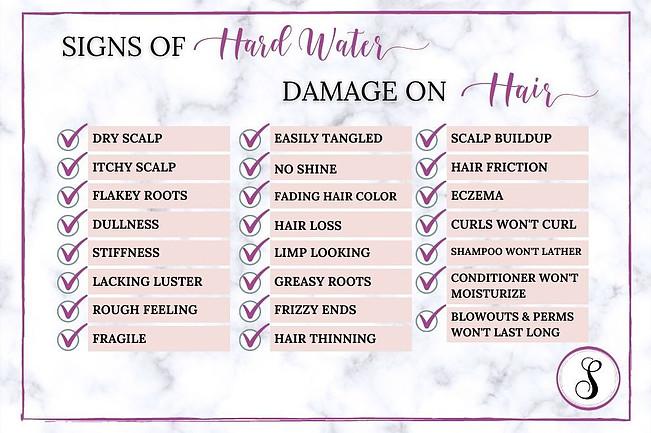 Signs Hard Water is Ruining Hair