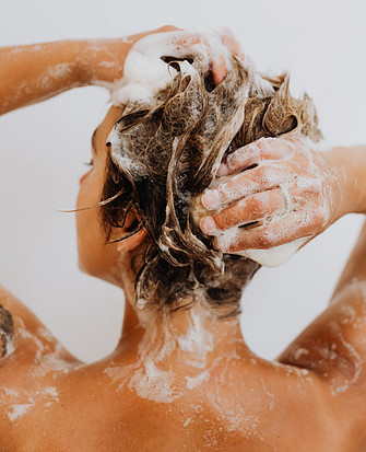 Benefits of Not Washing Hair Daily - Washing Hair With lather