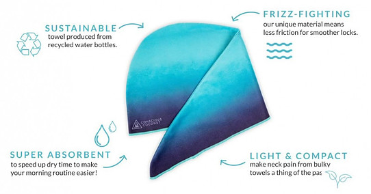 Sustainable Hair Towels Are Safe For Hair & Planet
