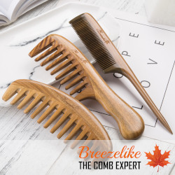Use Wooden Combs For Hair