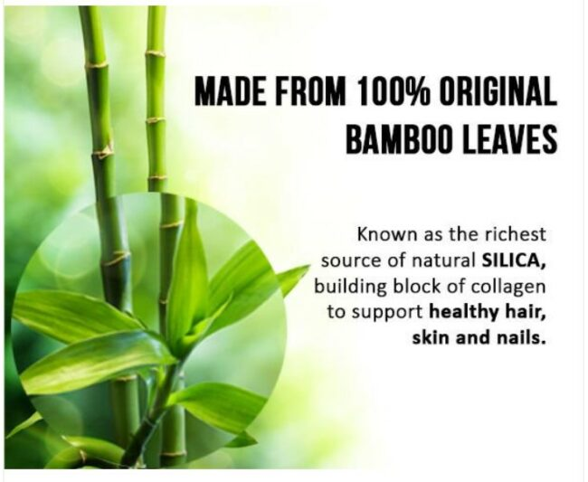 Silica From Bamboo Strengthens Hair