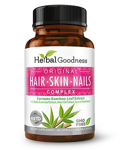Hair Skin & Nails Complex By Herbal Goodness
