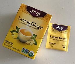 Organic Lemon Ginger Tea